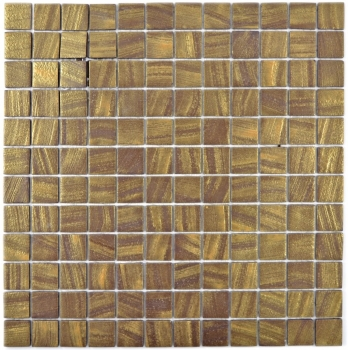 Mosaik Fliese ECO Recycling Glasmosaik ECO satin gold 360-05