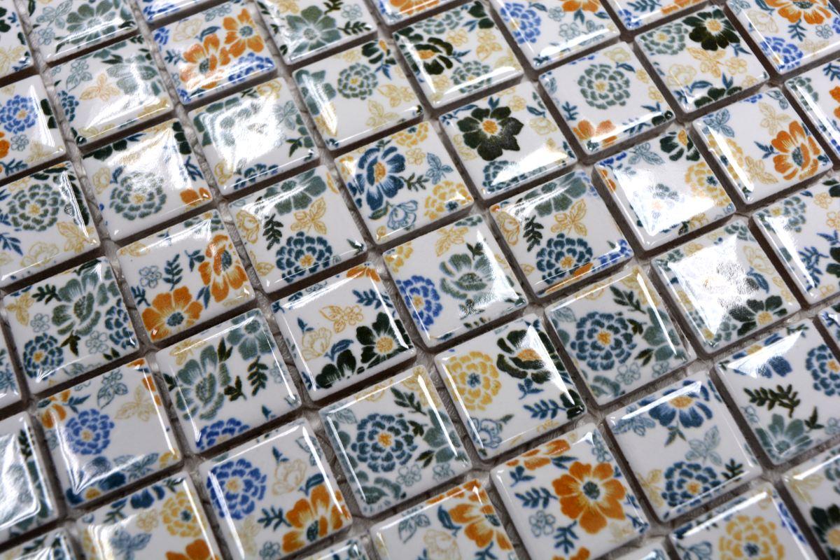 Retro Vintage Mosaik Fliese Keramik kupfer Spirit Kupfer MOS22B-1415/_m