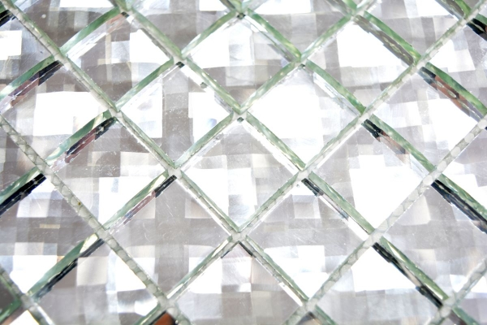 Mosaik Netzwerk Mosaik Fliese Transparent Transluzent